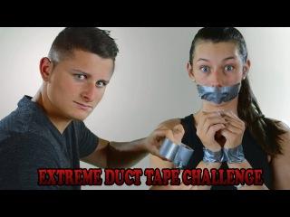 DUCT TAPE CHALLENGE! - (BF VS GF Challenge)