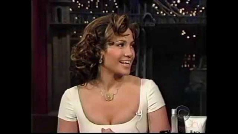 Jennifer Lopez on Letterman Talks Fiance Ben Affleck Promotes Maid in Manhatten