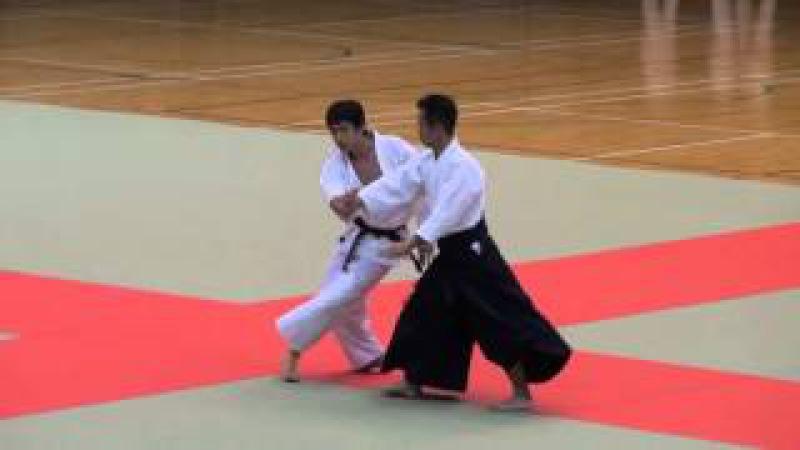 第60回演武会 養神館 乗木先生 -2015 Demo Yoshinkan Noriki sensei