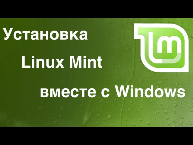 Linux - Установка Linux Mint рядом с Windows. (BIOS UEFI)
