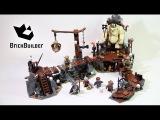 Lego Hobbit 79010 The Goblin King Battle - Lego Speed build