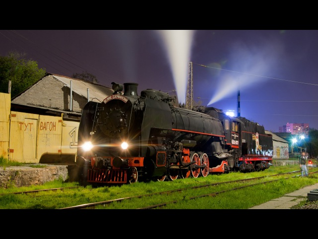 Паровозы ФД20-1679, Эр739-99, Л-0283 (ретро-поезд «ПОБЕДА»)
