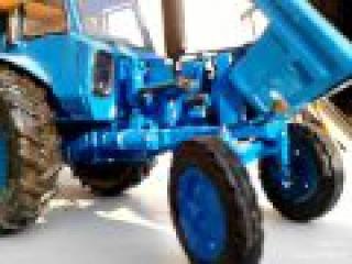 Обзор моделей тракторов МТЗ-52 и  МТЗ-80л из бумаги масштаб 1: 25
