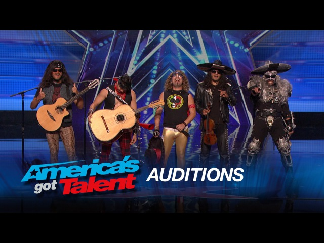 Metalachi Heavy Metal Mariachi Band Plays Were Not Gonna Take It - Americas Got Talent 2015
