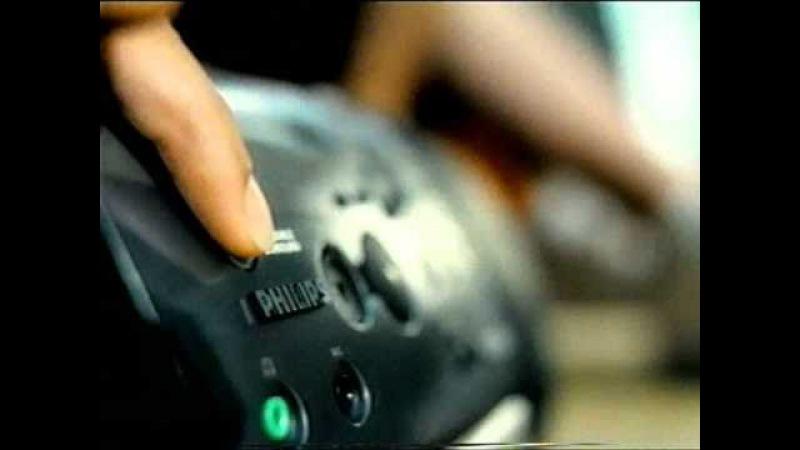 Philips - Cassette CD Player - old TV commercial stará reklama (1997) @ Staré Reklamy