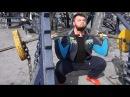Фронтальный присед - тренировка в Гидропарке / ТОРОХТИЙ / Front squats - training in Gidropark