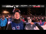 Max Parrot wins Mens Snowboard Big Air silver X Games Oslo 2016
