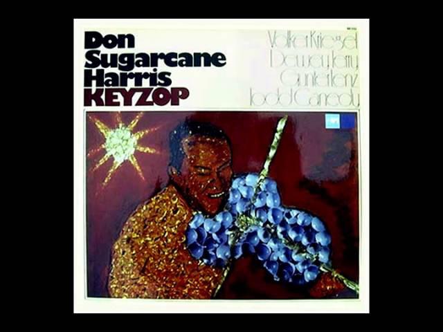 Don Sugarcane Harris - Keyzop (1975) - FusionJazzRock - Full Album