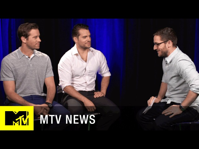 Henry Cavill Armie Hammer Trade 'The Man From U.N.C.L.E.' Secrets | MTV News