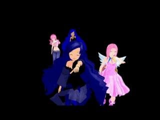 [MMD]  The Hillywood Show – Supernatural Parody (Принцесса Луна, Найтмер Мун, Пинки Пай и Пинкамина)