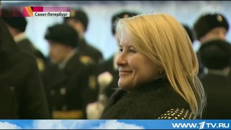 Зам. генерального директора «Еврохимсервис» Лариса Сергухина стала крестной мамой подводной лодки