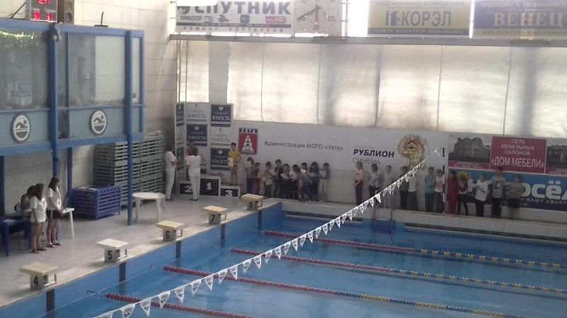 Плавание. Награждение мальчиков 2007 год