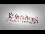 Fit For An Autopsy - Murder In The First (Lyric Video)