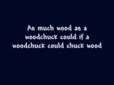 Woodchuck (How Much Wood would a Woodchuck Chuck) - A tongue twister song. By Bryant Oden