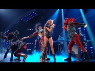 Выступление с песней «Can't Be Tamed» на Britains Got Talent — 2010 год