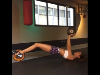 Тренируемся с Изабель Гулар 2