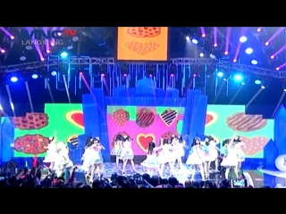 [perf] jkt48 - koisuru fortune cookie @ mom and kids awards 2015 (22 desember 2015)