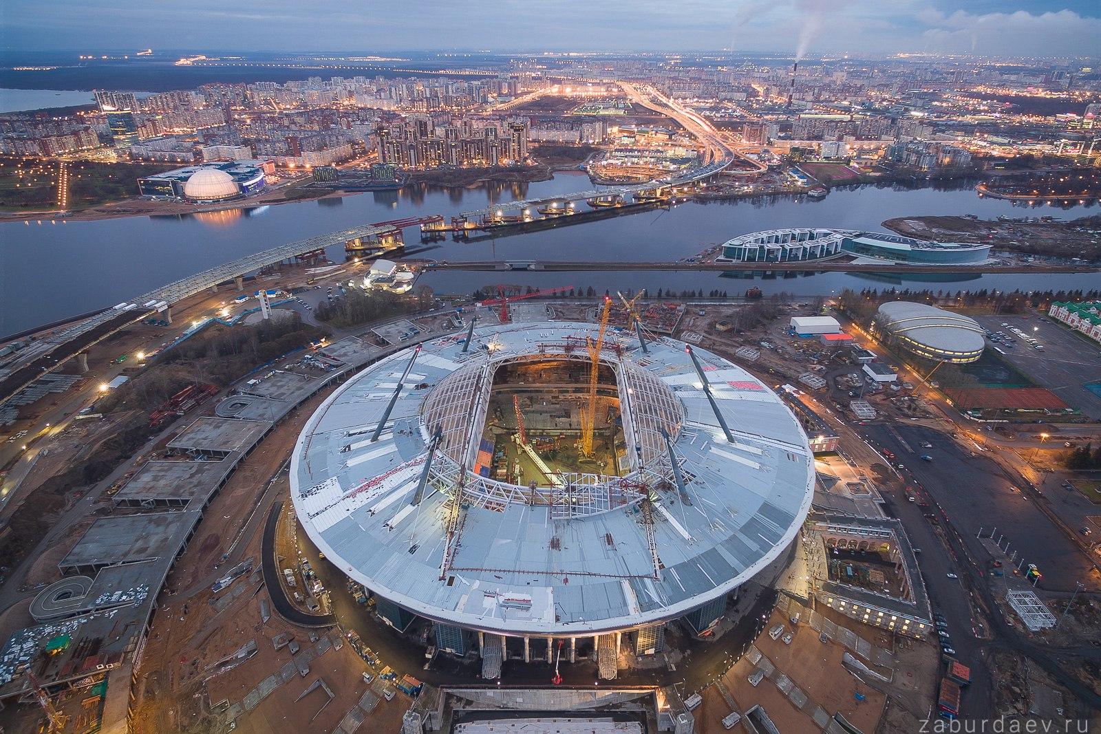Стадион Зенит (Газпром) Арена