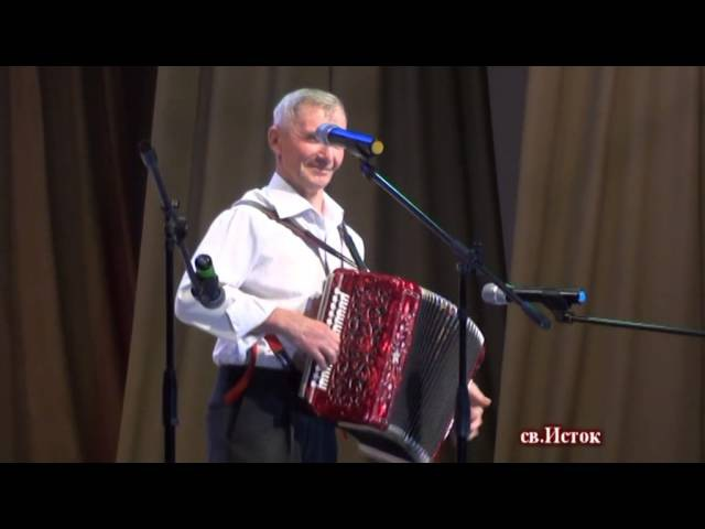 Мордовский гармонист Николай Турусов - Наигрыши