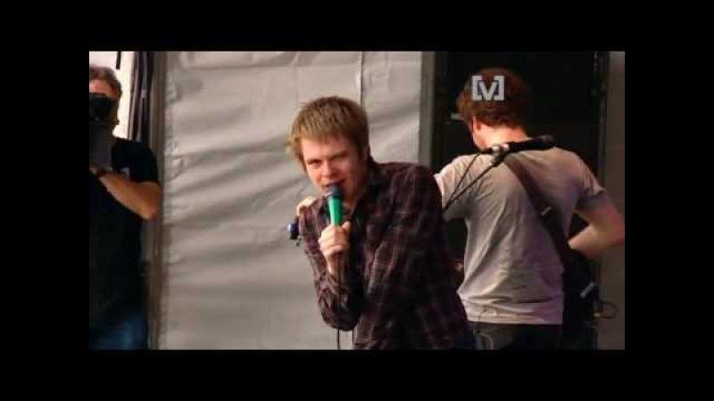 Enter Shikari - Jonny Sniper (Pro Shot) - Live at Big Day Out 2008