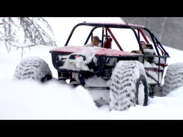 RC Trophy - Axial Wrait vs Gmade R1 - Snow RC OFF Road vol.2