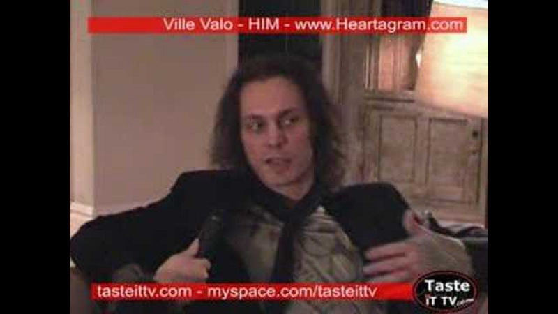 Picking Ville Valo's brain, special guest: his ghost.