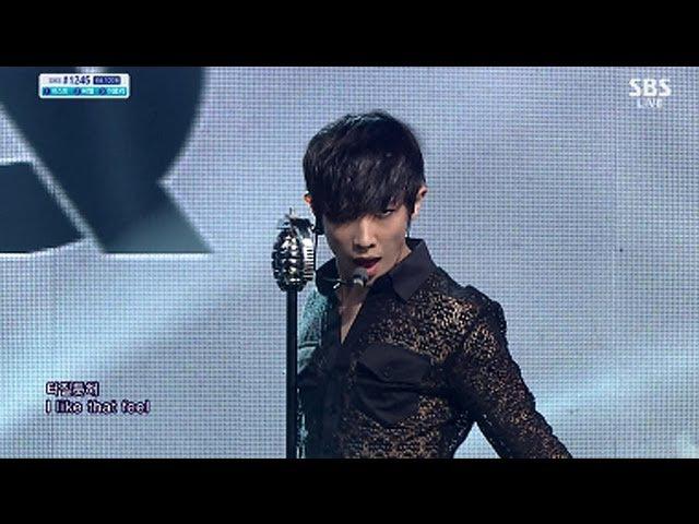 MBLAQ (엠블랙) - Sexy Beat Smoky Girl. @SBS Inkigayo_20130609.