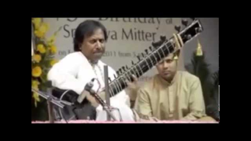 Raga Kirwani Sitar Shahid Parvez,Tabla Anindo Chatterjee