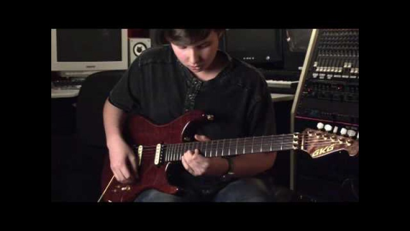Incredible 14 year old shredder on guitar- Anton Oparin And Now
