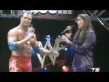 Kurt Angle and Stephanie McMahon Helmsely segment