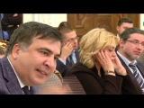 Бандит, вор и дегенерат Аваков оскорбил Саакашвили и запустил в него стаканом