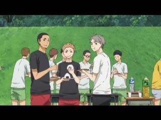 Волейбол 2 сезон 11 серия / Haikyuu 2 сезон 11 серия Raw