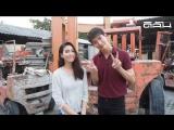 Видео с фотосессии Пуша и Тжуй для Dichan Magazine. (Love is all around)