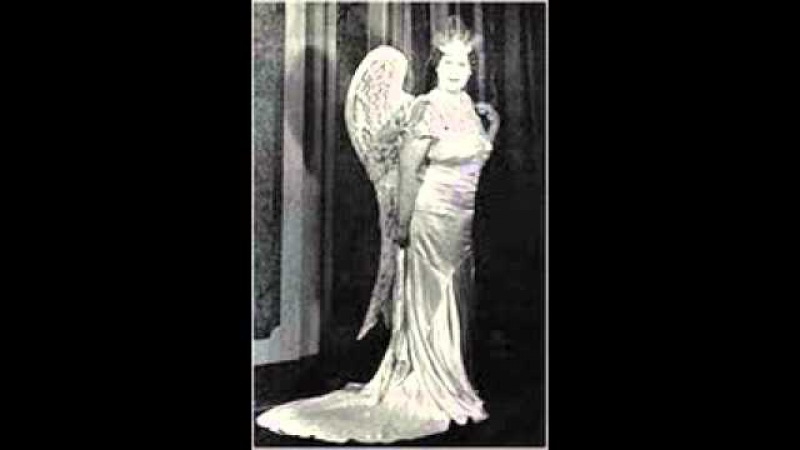 Florence Foster Jenkins Sings Adele's Laughing Song. Die Fledermaus