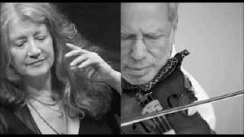 WEINBERG Violin Sonata No.5 | G.Kremer, M.Argerich | live 2013 ®
