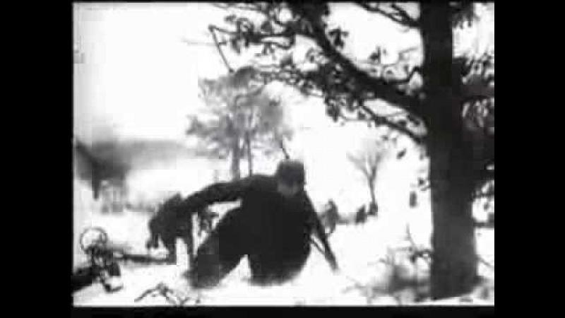 Tupu tup po śniegu. Nazi parodia