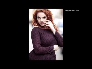 модель плас сайз Наташа Йорга | plus size model Natasha Yorga