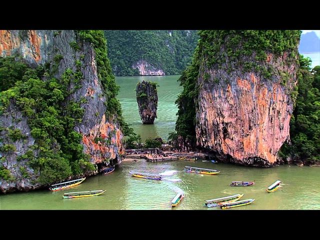 Jame Bond Island In Phangnga Province
