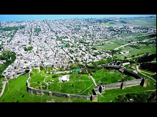 Дербент Нарын кала ( Republic of Dagestan city of Derbent )
