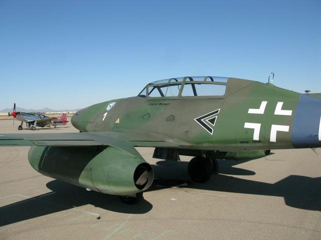 Collings Foundation Me-262, TP-51C, B-24J, B-17G Marana AZ Departure