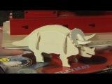 Вытачиваем динозавра на детском станке PlayMat