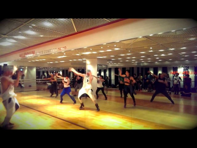 What About Us by The Saturdays - Brian Friedman Choreography at Millennium Tokyo