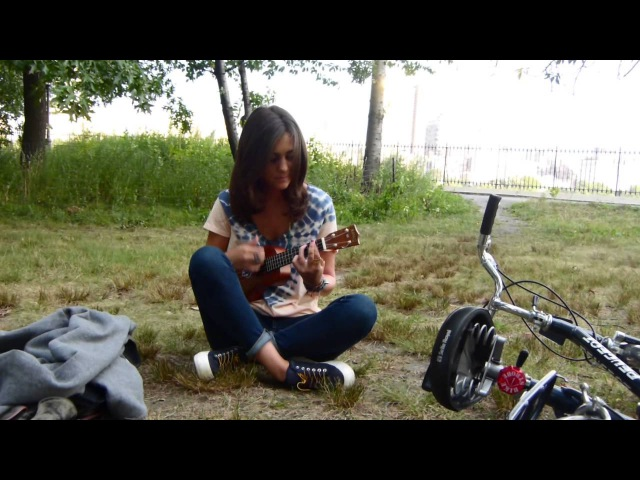 Ukulele cover I Love You - Woodkid (à New York pour mon Sarou)