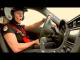 Sabine Schmitz за рулем нашего Porsche 991 GT3 - Nurburgring