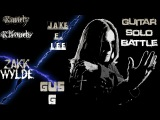 Randy Rhoads VS Jake E. Lee VS Zakk Wylde VS Gus G guitar solo battle - Neogeofanatic