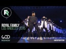 Royal Family   FRONTROW   World of Dance Los Angeles 2015   WODLA15