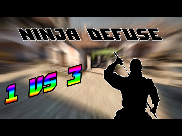 1 vs 3 | Ninja defuse | cRoFTy