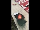опыт извержение вулкана