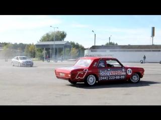 ГАЗ 24 Волга V8. Дрифт