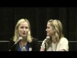 AC Boardwalk Con 2015 Once Upon A Time Panel Rebecca Mader, Sean Maguire, Elizabeth Lail, Georgina Haig